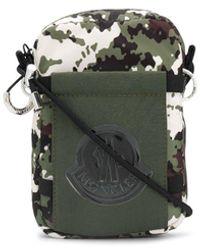 Moncler Extreme Camo Side Bag - Green