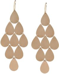 Irene Neuwirth Nine drop earrings - Rosa