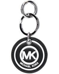Michael Kors Porte-clés à logo embossé - Noir
