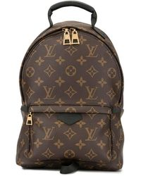 Louis Vuitton Pre-owned Palm Springs Backpack Pm Bag - Brown