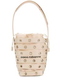 Paco Rabanne - Cage Bucket Shoulder Bag - Lyst