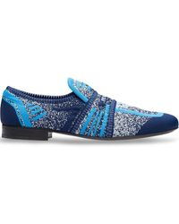 Prada Loafer mit Stretch-Anteil - Blau