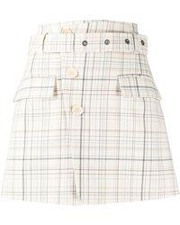 Mrz Gonna Check Mini Skirt - Multicolour