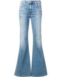 Citizens of Humanity Jeans a zampa di elefante - Blu