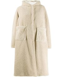 Forte Forte Hooded Oversized Coat - Natural