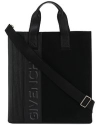 Givenchy - Borsa tote con logo - Lyst