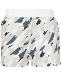 Loveless - Scribble Camouflage Shorts - Lyst
