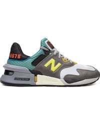 New Balance 'MS997 Bodega No Bad Days' Sneakers - Grau