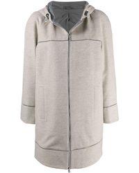 Brunello Cucinelli Пальто Прямого Кроя - Многоцветный