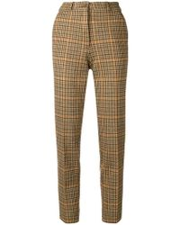 Etro - High-waisted Trousers - Lyst