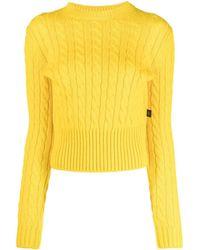 Louis Vuitton プレオウンド ケーブルニット セーター - イエロー