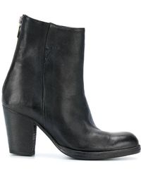 Sartori Gold - Block Heel Ankle Boots - Lyst