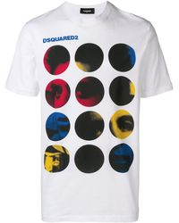 DSquared² フェイス Tシャツ - マルチカラー