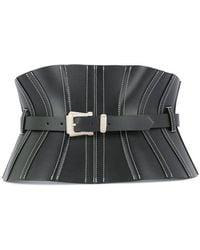 Mugler Corset waist belt - Schwarz