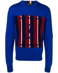 Tommy Hilfiger - Colour-block Long Sleeve Sweater - Lyst