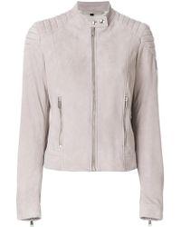 Belstaff - Mollison Leather Jacket - Lyst