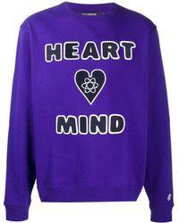 Billionaire Heart & Mind スウェットシャツ - パープル