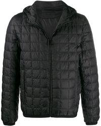 Prada - Grid Quilted Jacket - Lyst