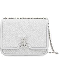 Burberry - Medium Quilted Monogram Cross-body Bag - Lyst