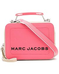 Marc Jacobs - The Colorblock Textured Mini Box Bag - Lyst