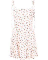Reformation Платье Bisque С Цветочным Принтом - Многоцветный