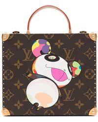 Louis Vuitton X Takashi Murakami Pre-owned Monogram Panda Jewellery Case - Brown