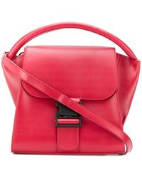 Zucca Small Flap Tote - Rood