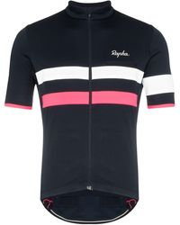 Rapha Maillot de cyclisme à bandes contrastantes - Bleu
