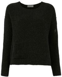 Mara Mac - Pocket Knit Blouse - Lyst