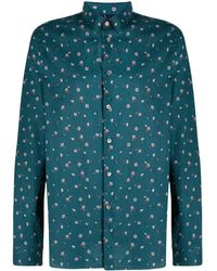 PS by Paul Smith - Floral Print Shirt - Lyst