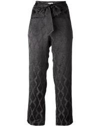 MASSCOB - Knot Detail Pants - Lyst
