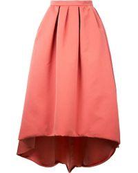 Paule Ka - Asymmetric Full Skirt - Lyst