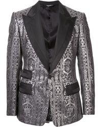 Dolce & Gabbana - ジャカード タキシードジャケット - Lyst