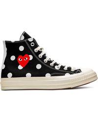Converse X Comme Des Garçons Chuck 70 High-top Sneakers - Zwart