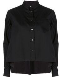 Sacai - オーバーサイズ フレアシャツ - Lyst