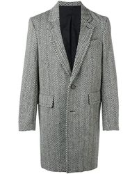 AMI - Lined Two Buttons Coat - Lyst