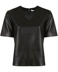 Tibi ラウンドネック Tシャツ - ブラック