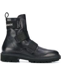 Emporio Armani Ботинки На Липучке - Черный