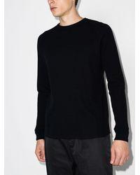Beams Plus Camiseta de tejido gofrado - Negro