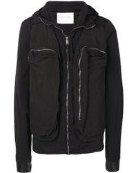 1017 ALYX 9SM フーデッド ジャケット - ブラック