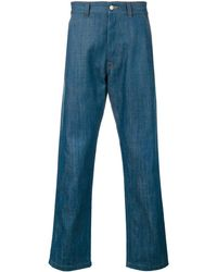 AMI Straight Fit Jeans - Blue