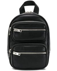 Alexander Wang Double-zipped Backpack - Black