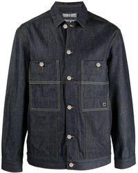 Etudes Studio Guest Denim Chore Jacket - Blue