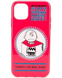 Marc Jacobs Peanuts Edition レッド Charlie Brown Iphone 11 ケース