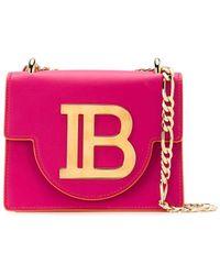 Balmain 'B-Bag 21' Schultertasche - Pink