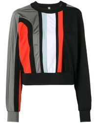 NO KA 'OI - Cropped Colour Block Sweatshirt - Lyst