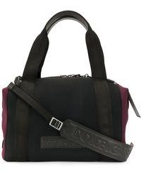 Dolce & Gabbana Bolso de viaje con diseño en relieve - Negro
