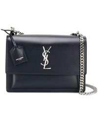 Saint Laurent - Sunset Medium Bag - Lyst