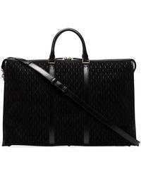 Saint Laurent Monogram 48-hour Duffle Bag - Black