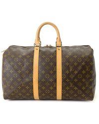 Louis Vuitton Дорожная Сумка Keepall 45 Pre-owned - Коричневый